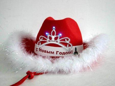 Новогодние шляпки