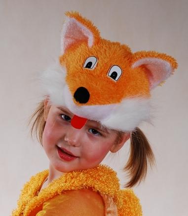 Шапка лисы своими руками